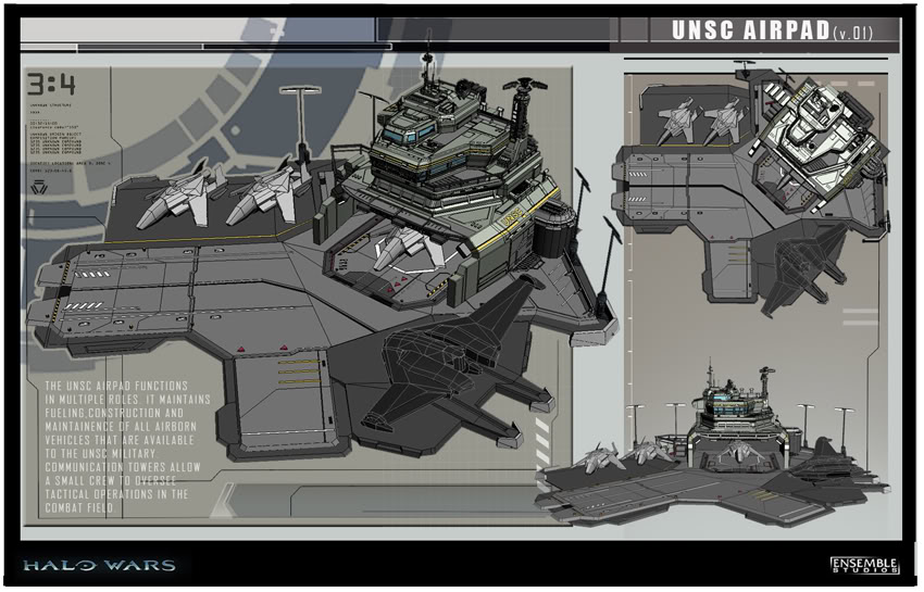 Halo Wars Concept Art Halo Costume And Prop Maker