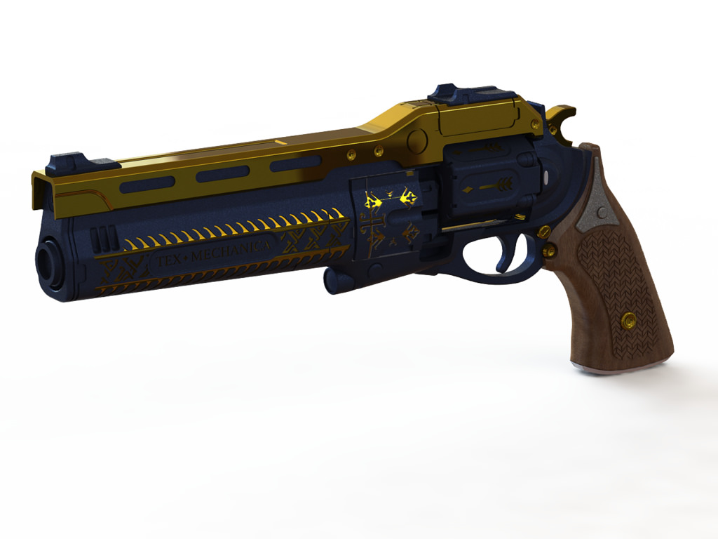 Destiny Hand Cannon The Last Word For 3D Printing