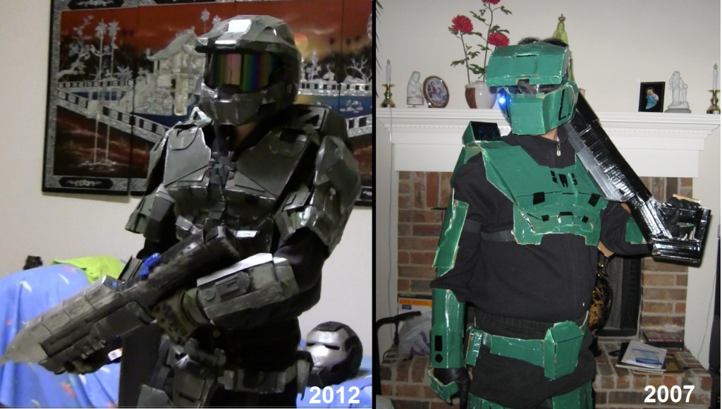 My Halo armor build - Mixture of Halo 3 and 4 elements (Picture Heavy) Part 1 & My Halo armor build - Mixture of Halo 3 and 4 elements (Picture ...