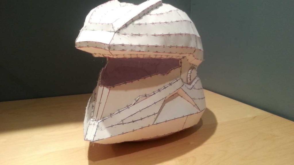 Pictures of Halo 4 Soldier Helmet Pepakura - #rock-cafe