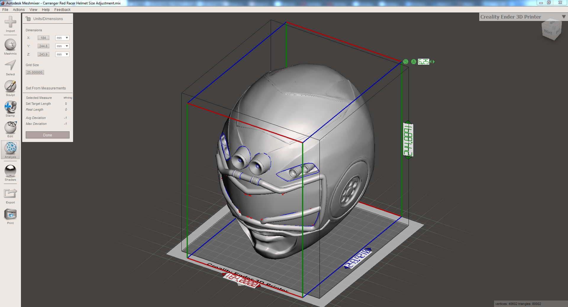 2019-01-18 09_16_30-Autodesk Meshmixer - Carranger Red Racer Helmet Size Adjustment.mix.png