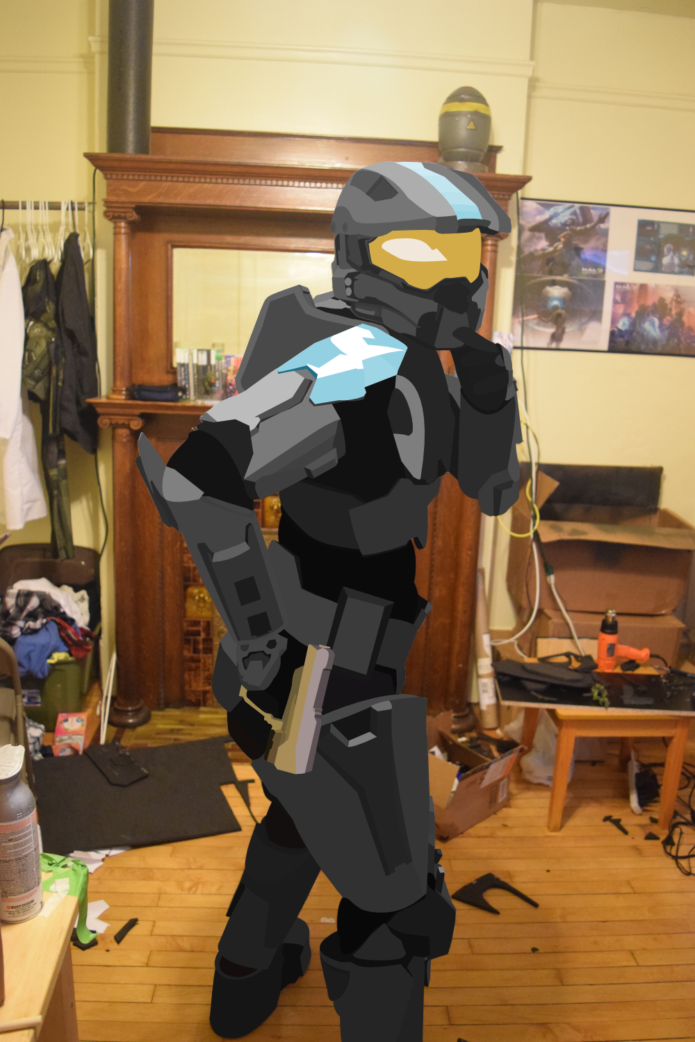 20191202 (RECOLOR) First Lineless Drawover Nic's Halo Cosplay.png