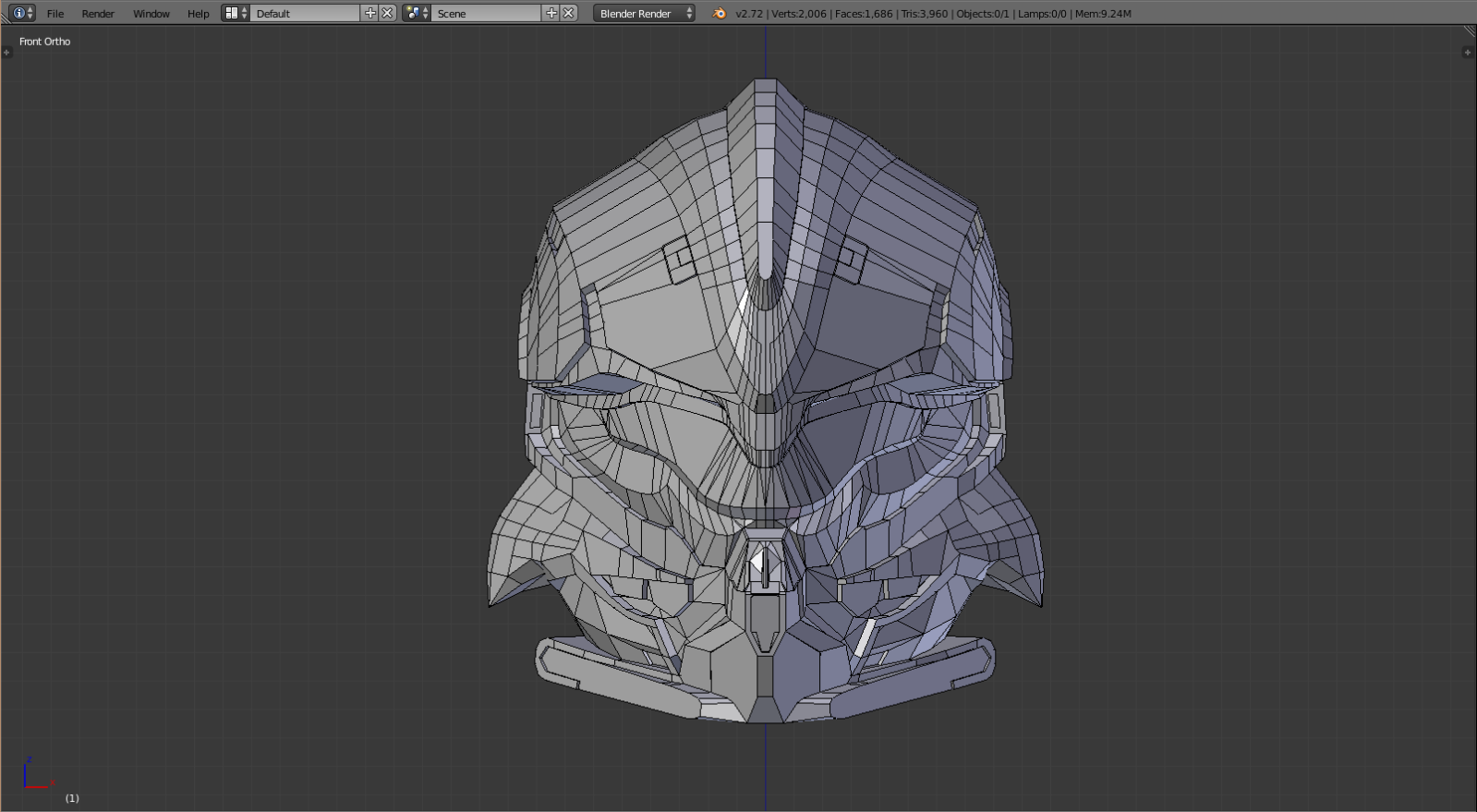 Halo 5: Guardians Beta Armor (Helioskrill) | Halo Costume