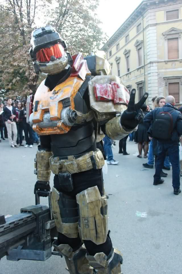 Noble team & mark VI build, completed | Halo Costume and ...
