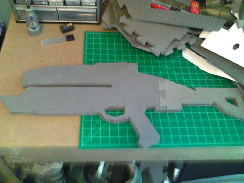 Mass Effect EVA foam weapons   Halo Costume and Prop Maker Community ...