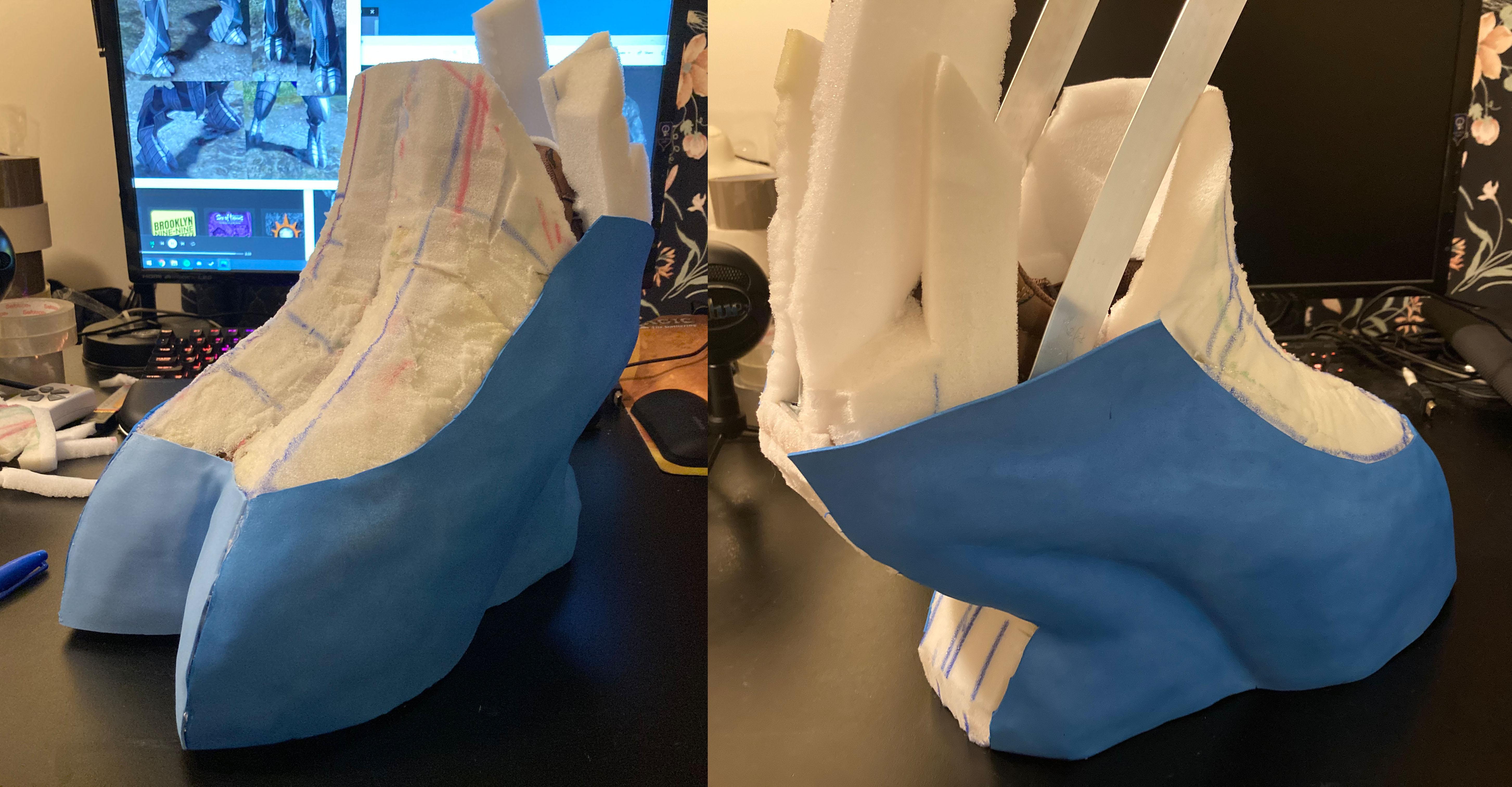 (5c) Leg Stilt Foam Process - Arbiter.JPG