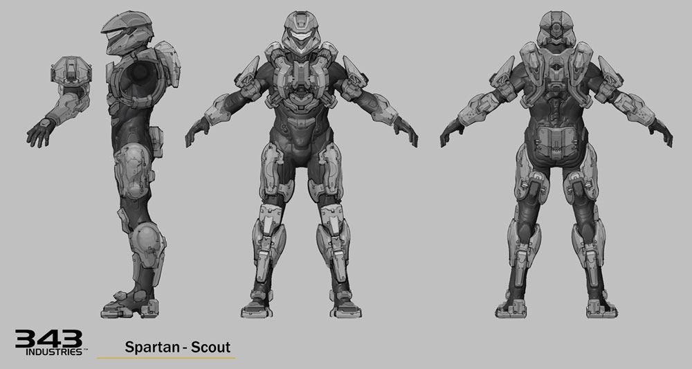 First Build Halo 4 Scout Armor Halo Costume And Prop