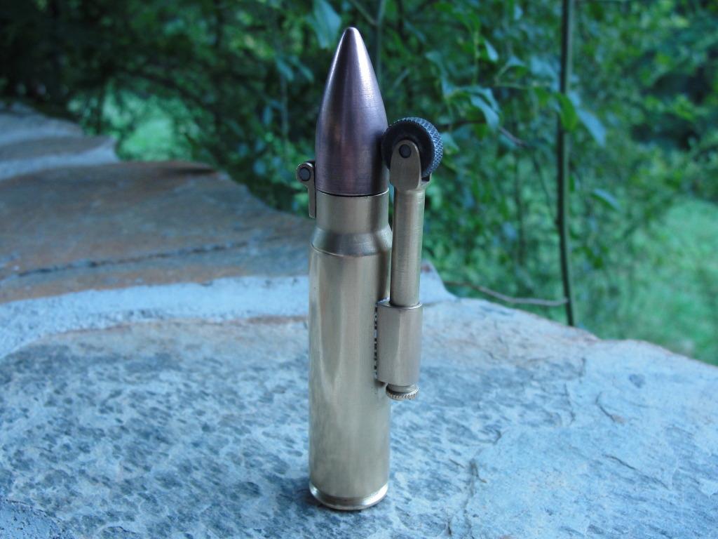 Metro 2033 Bullet Lighter (WIP)