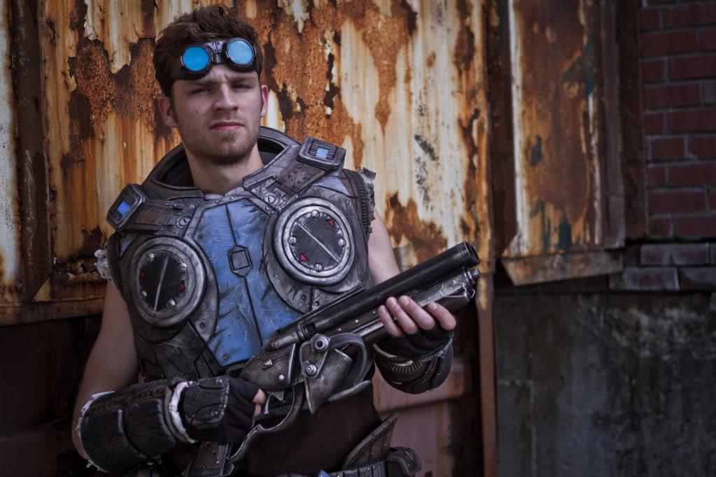 Gears Of War 3 Baird Foam Full Suit Scratch Built Will
