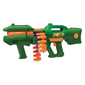 So I was looking for nerf guns and I saw the Assault Rifle. . But then I  came upon this.