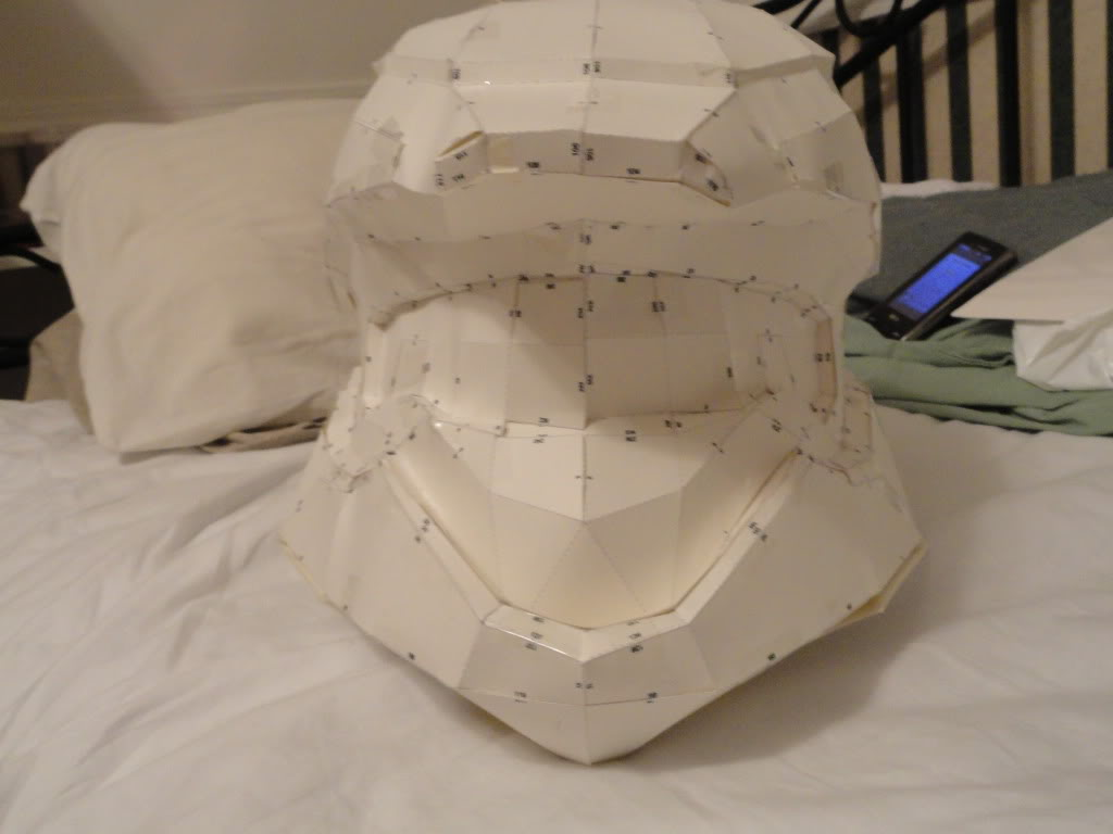 bobiffer's Halo 3 Scout Helmet WIP | Halo Costume and Prop