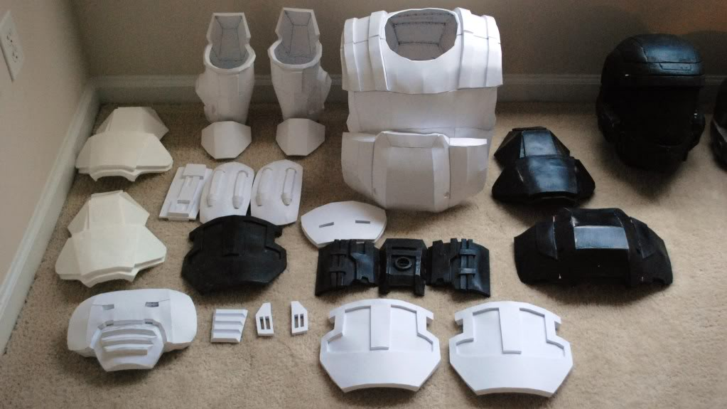3d Printed Odst Helmet - Panamerican Electronics