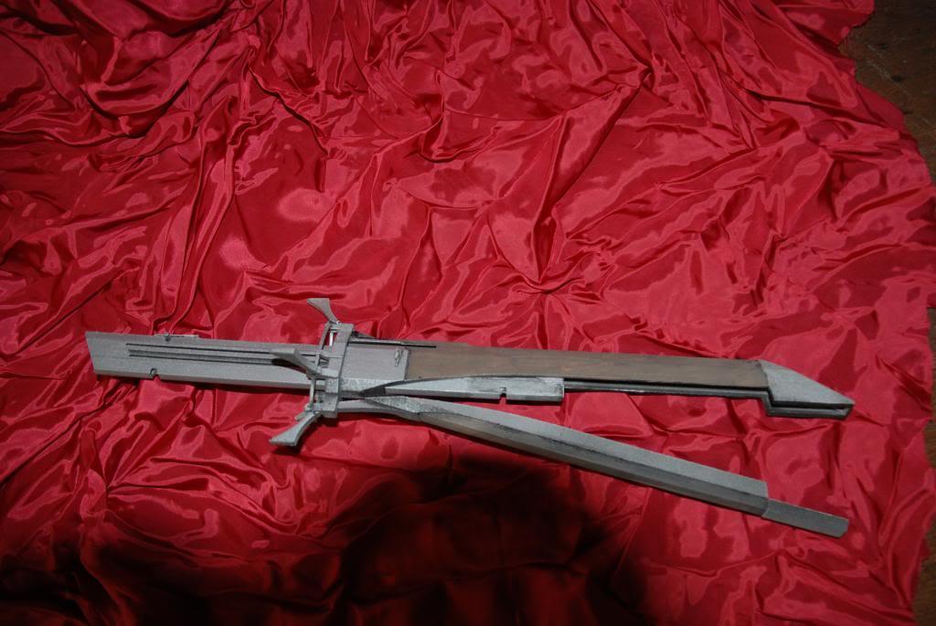 Складной меч своими руками 30