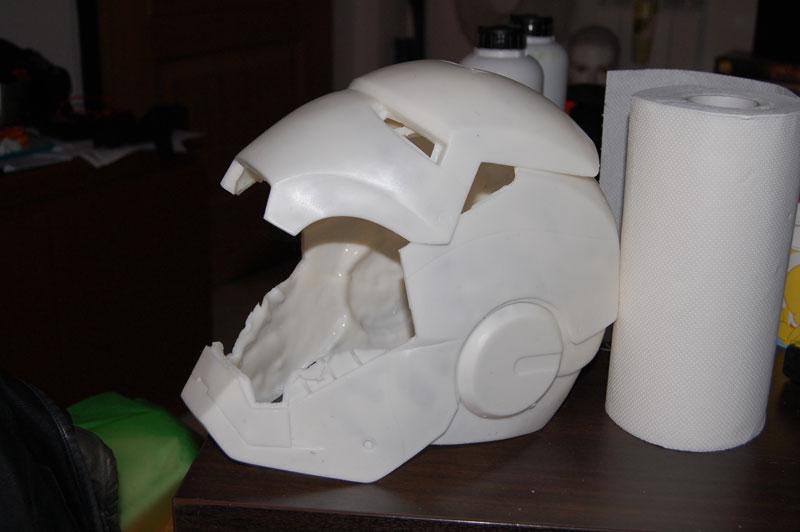 Gemini Khan] Iron Man Helmet Build | Halo Costume and Prop Maker ...