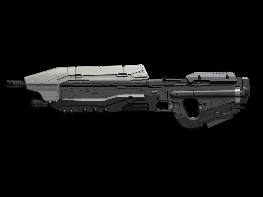 Props - Halo 3/4/5 Weapon Renders & 3D Prints | Halo Costume