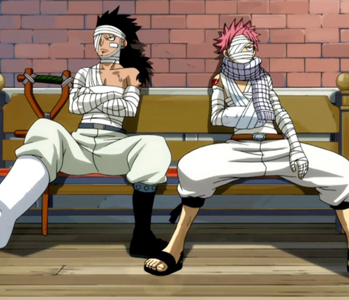 Gajeel_and_Natsu_Bandaged.jpg