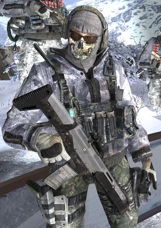 call of duty modern warfare 2 ghost
