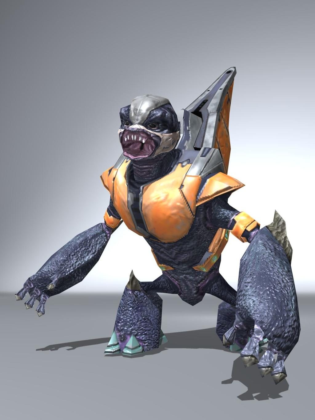 3D Grunt Model I'm Working On | Halo Costume and Prop Maker