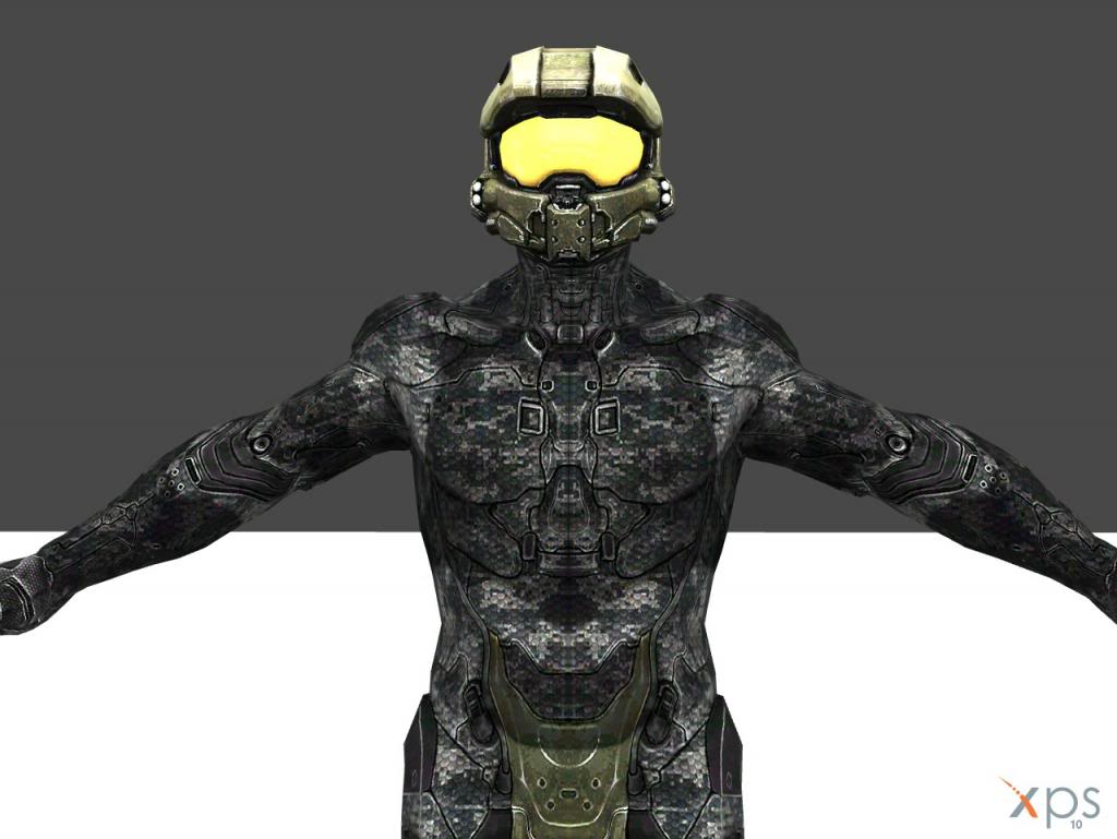 Halo 4 Master Chief Undersuit model | Halo Costume and Prop