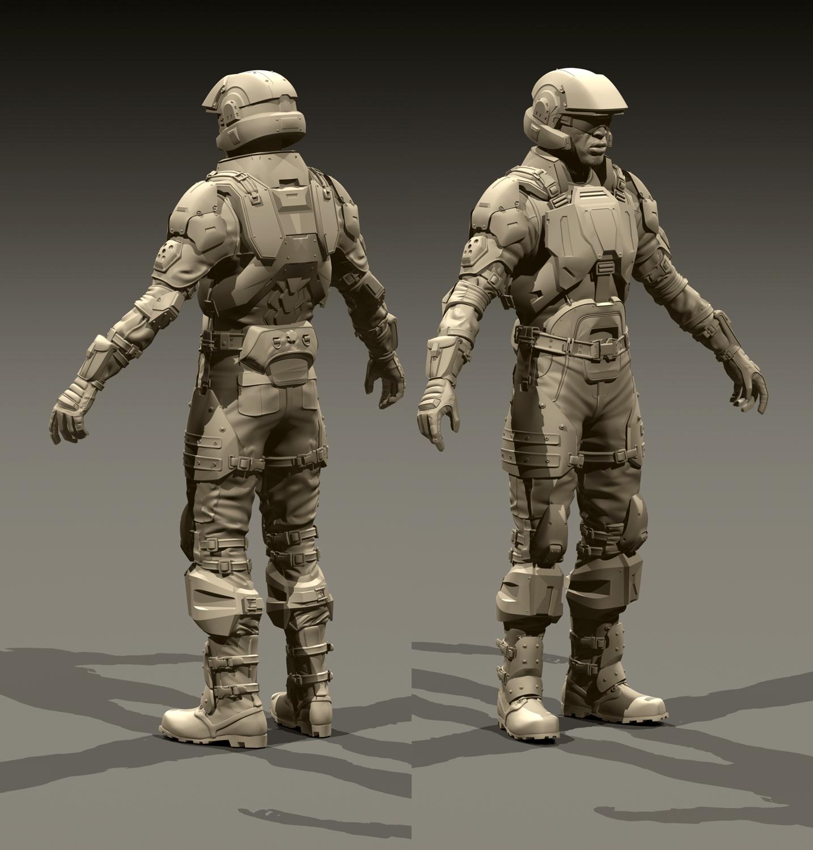 Halo Marine Costumes & Halo Marine Cosplay New Wip Halo 3