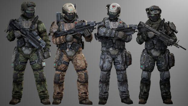 3D Printed HALO Marine using Kryptek Mandrake | Halo Costume and