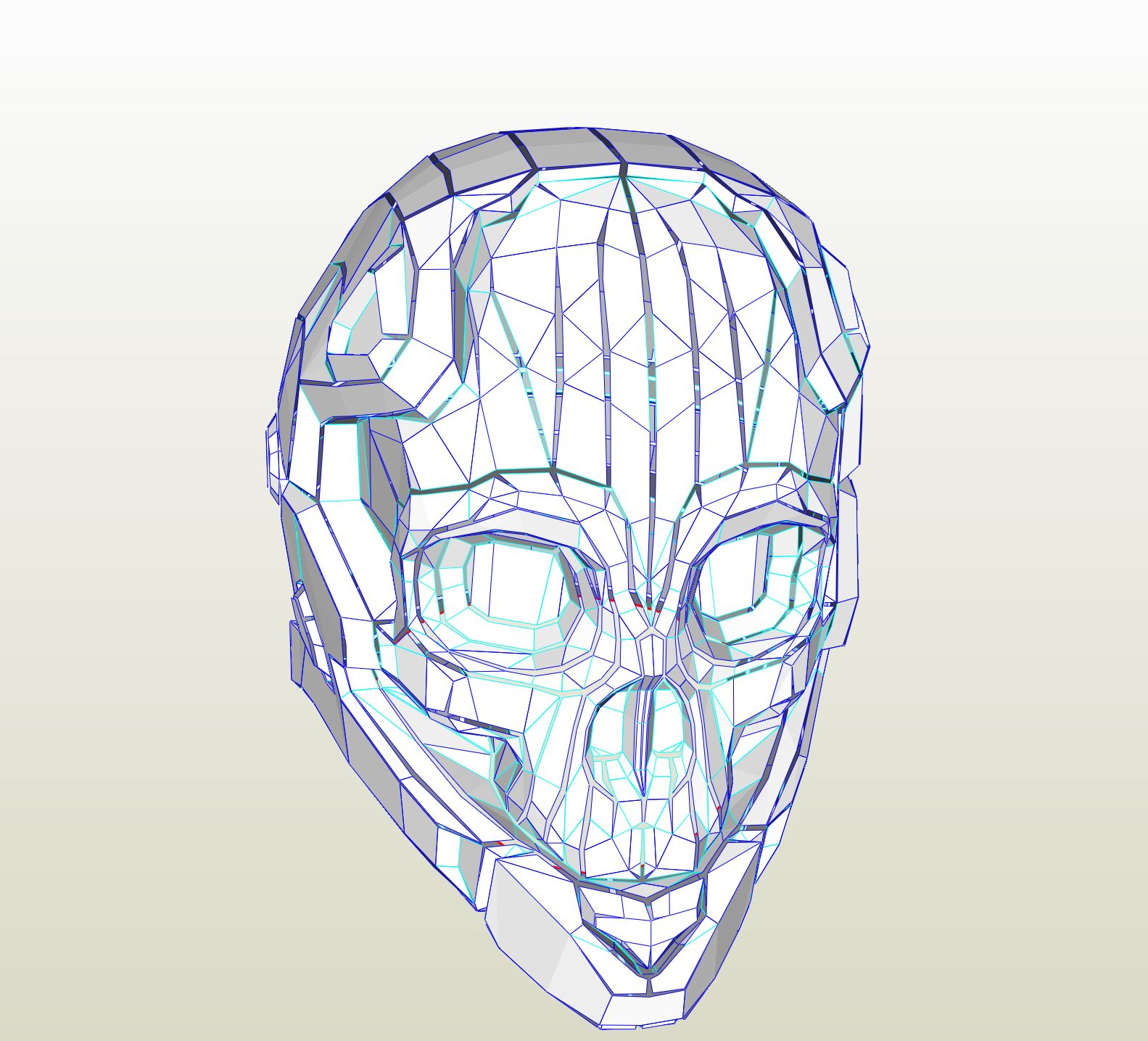 Halo Reach Haunted Helmet