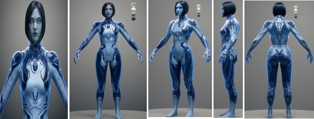 Halo 5 Cortana Project Page 5 Halo Costume And Prop