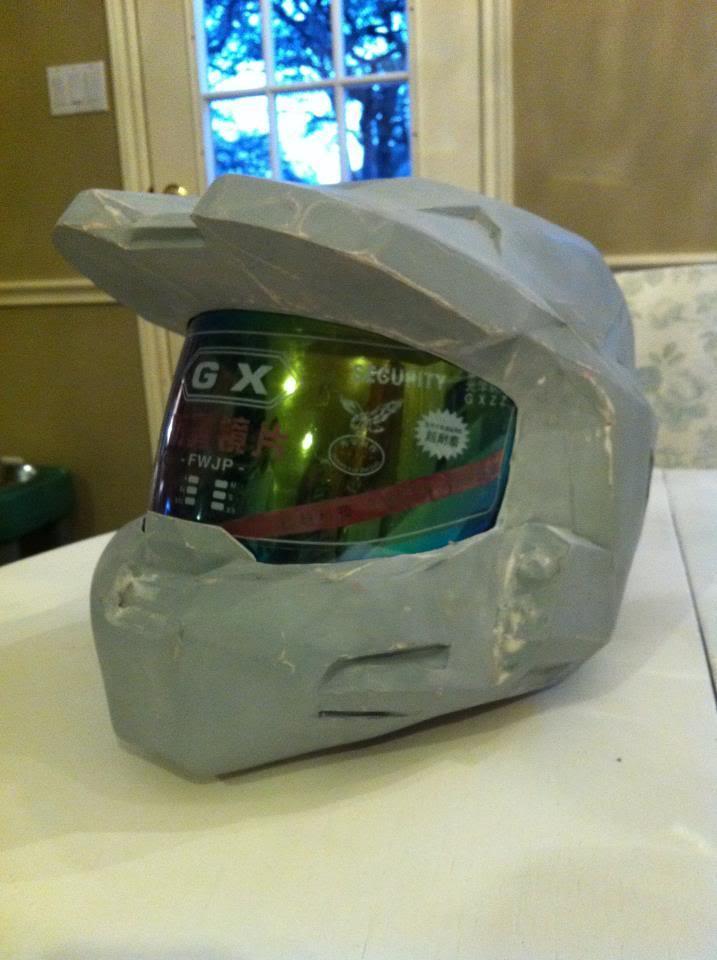 how to build a foam helmet