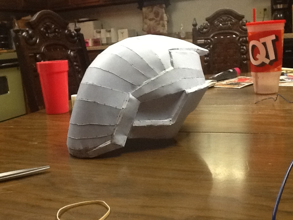 My first build (Zer0: Borderlands 2) | Halo Costume and Prop