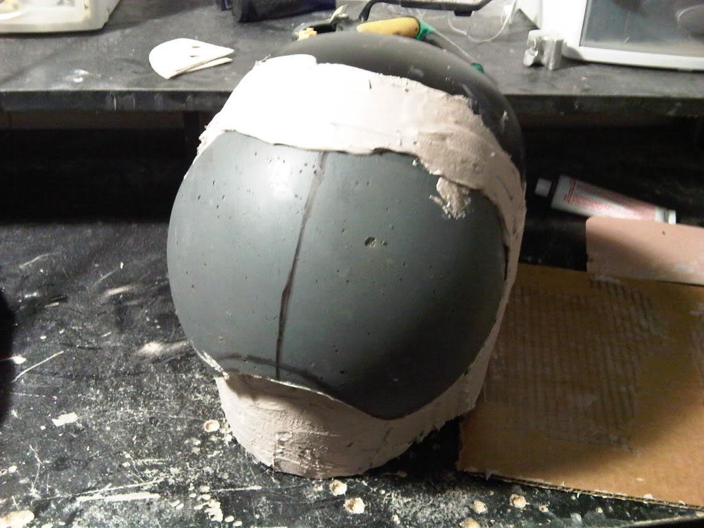 Halo 3 Security Marathon helmet WIP(pic heavy) | Halo