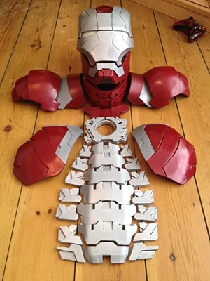 Iron Man Foam Templates | Ironman Foam Builds Info Added On Page 1 For Foam Builds Update On