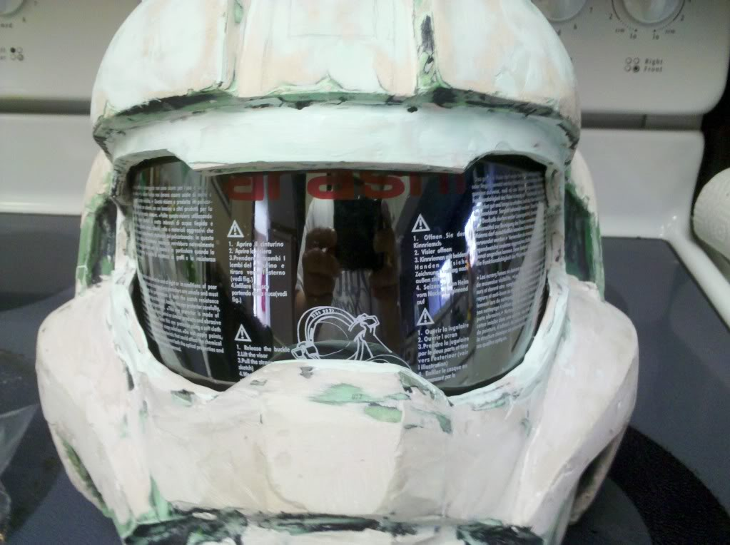 fd01d291 Tutorial: Install & Detail your visor | Halo Costume and Prop Maker ...