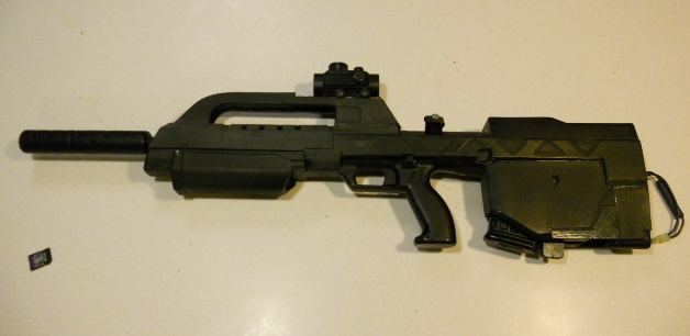Thermal/chem-formed BR55-HB airsoft replica (Photo heavy