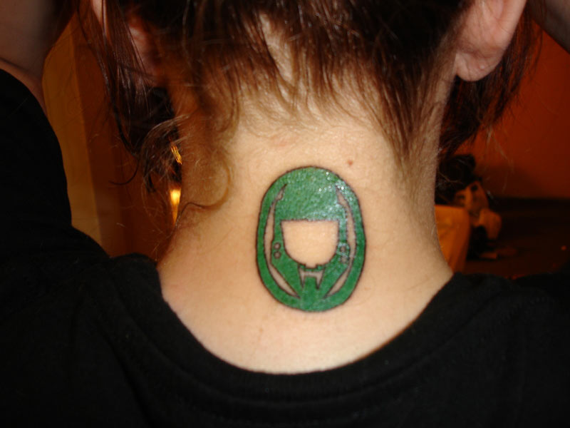 Master Chief Tattoo Halo Costume And Prop Maker Community