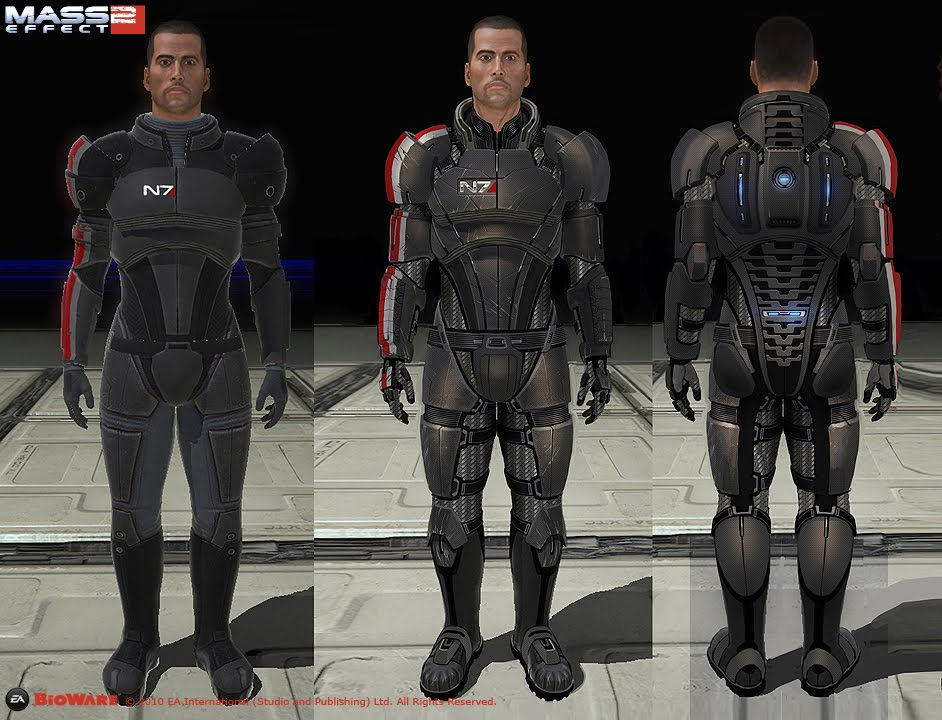 Commander Shepard N7 Build Halo Costume And Prop Maker