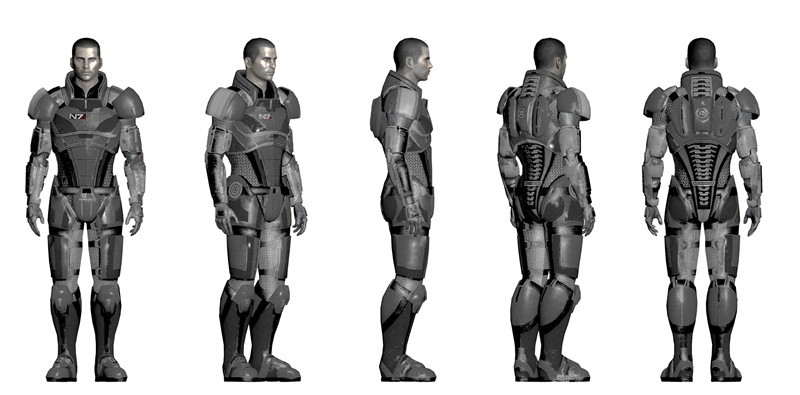Hugh\'s Mass Effect II N7 Armor | Halo Costume and Prop Maker ...