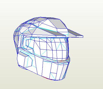 Halo 3 Mark V helmet file | Halo Costume and Prop Maker