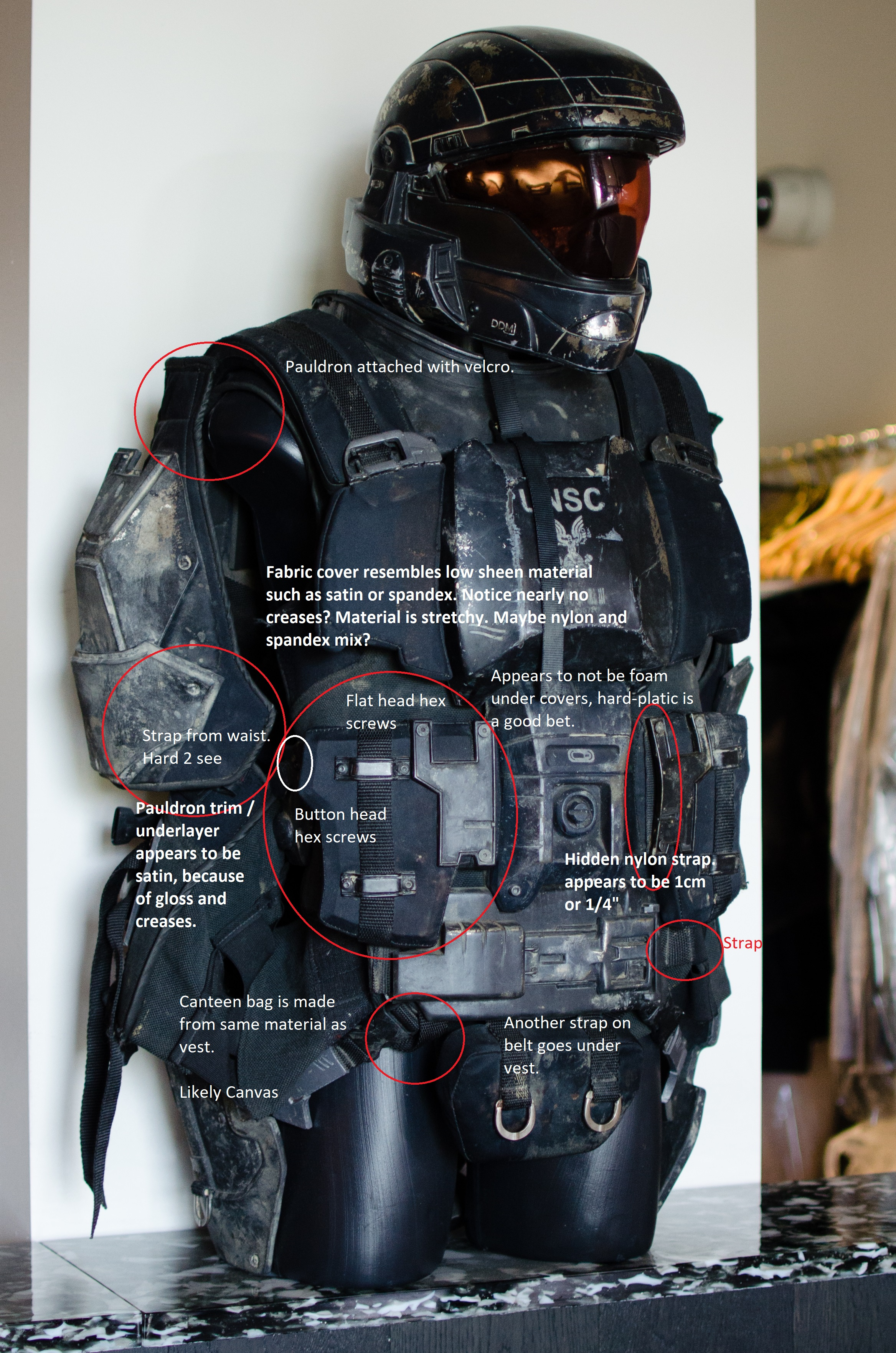Soft Parts Landfall Odst Soft Goods Analysis Halo Costume And
