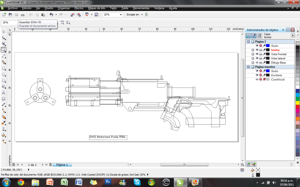 Dead space 2 sws motorized pulse rifle blueprint project hydra progreso3g malvernweather Image collections
