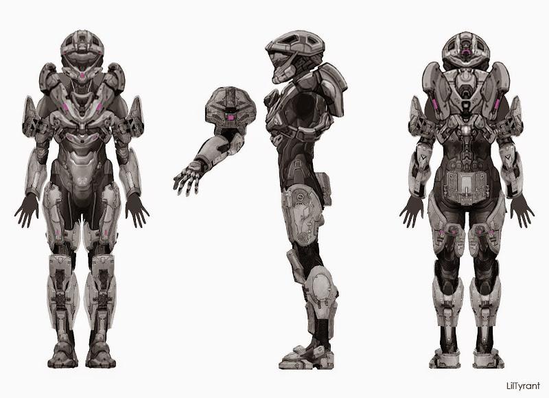 LilTyrant's HALO 4 ARMOR + Undersuit - **WIP** | Halo