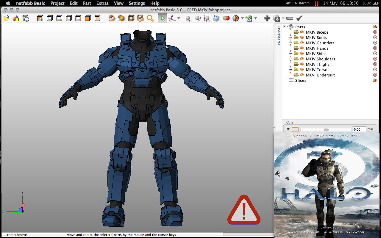 Spartan Fred 104 Custom Mkiv Armour Build Halo Costume And