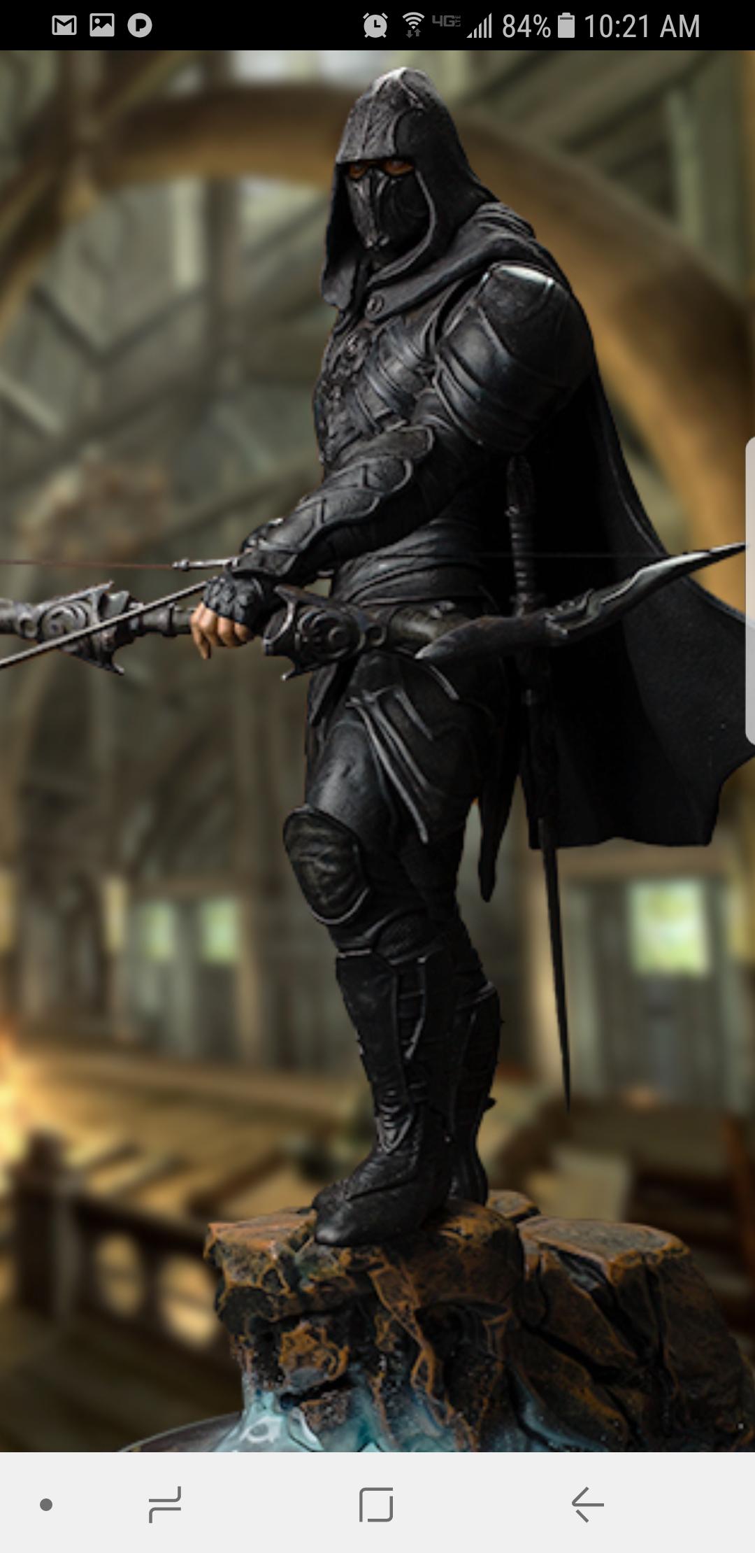 Duke's Skyrim Nightingale Armor | Halo Costume and Prop