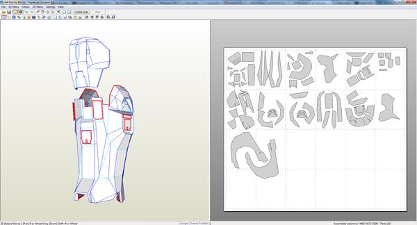 halo foam armor templates pdf