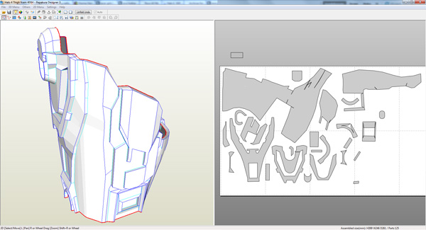 Halo 4 Master Chief Armor Blueprints