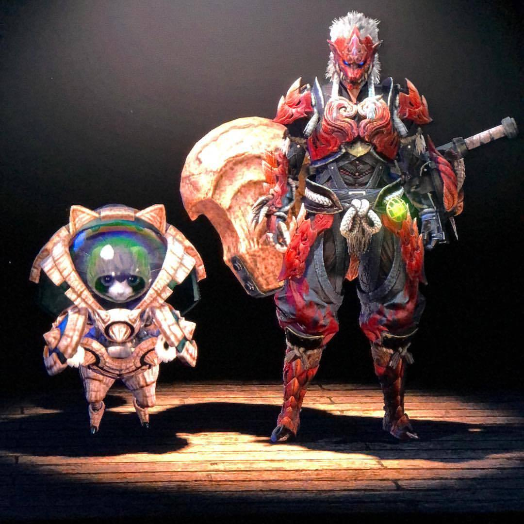 Monster Hunter World Odogaron Armour Build Halo Costume And