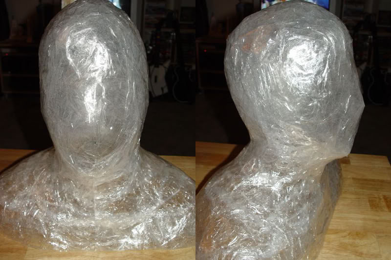 Do-It-Yourself Packing Tape Body Molds and Casts | Halo