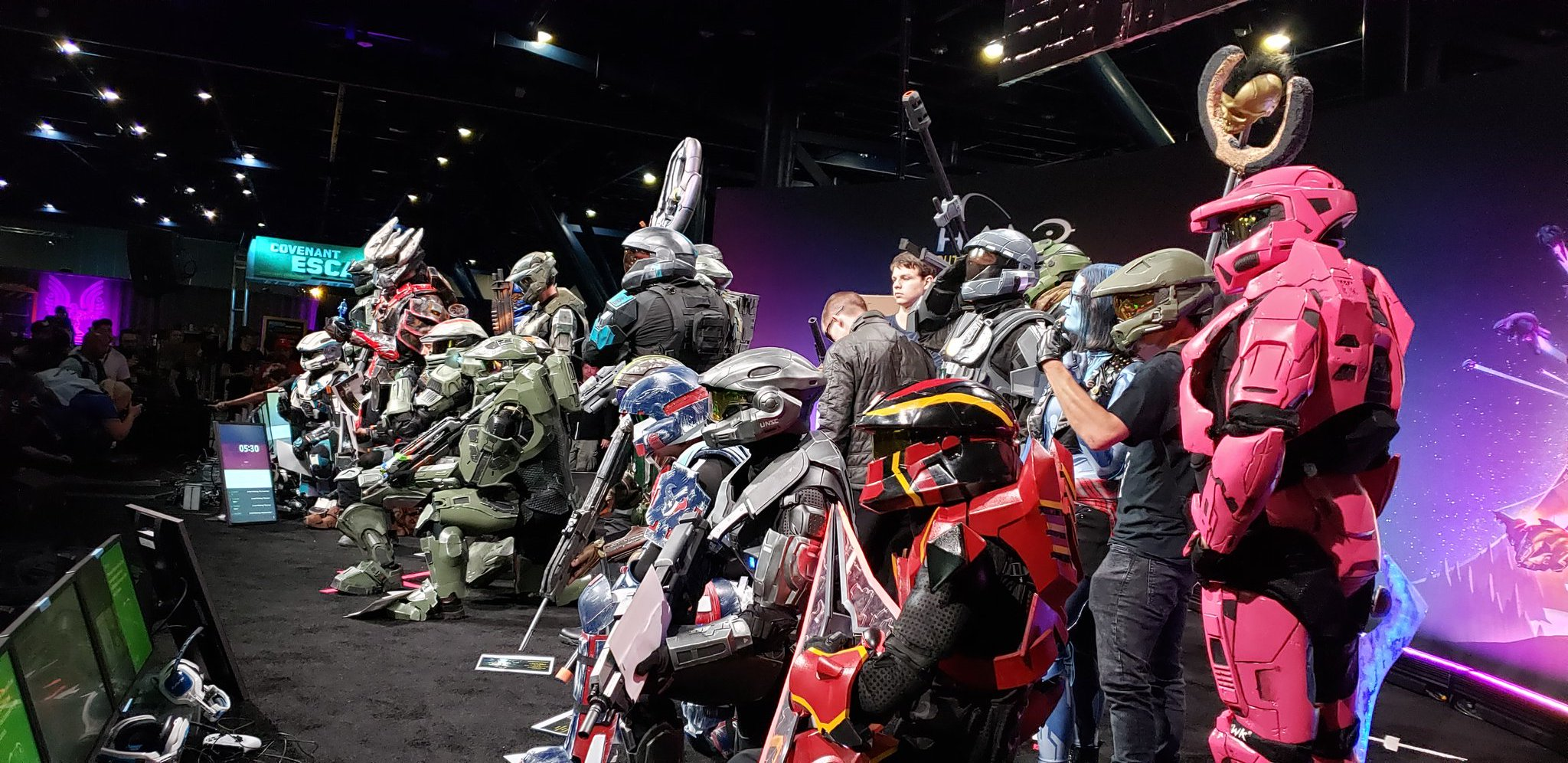 Halo Outpost Houston Cosplay Contestants 3