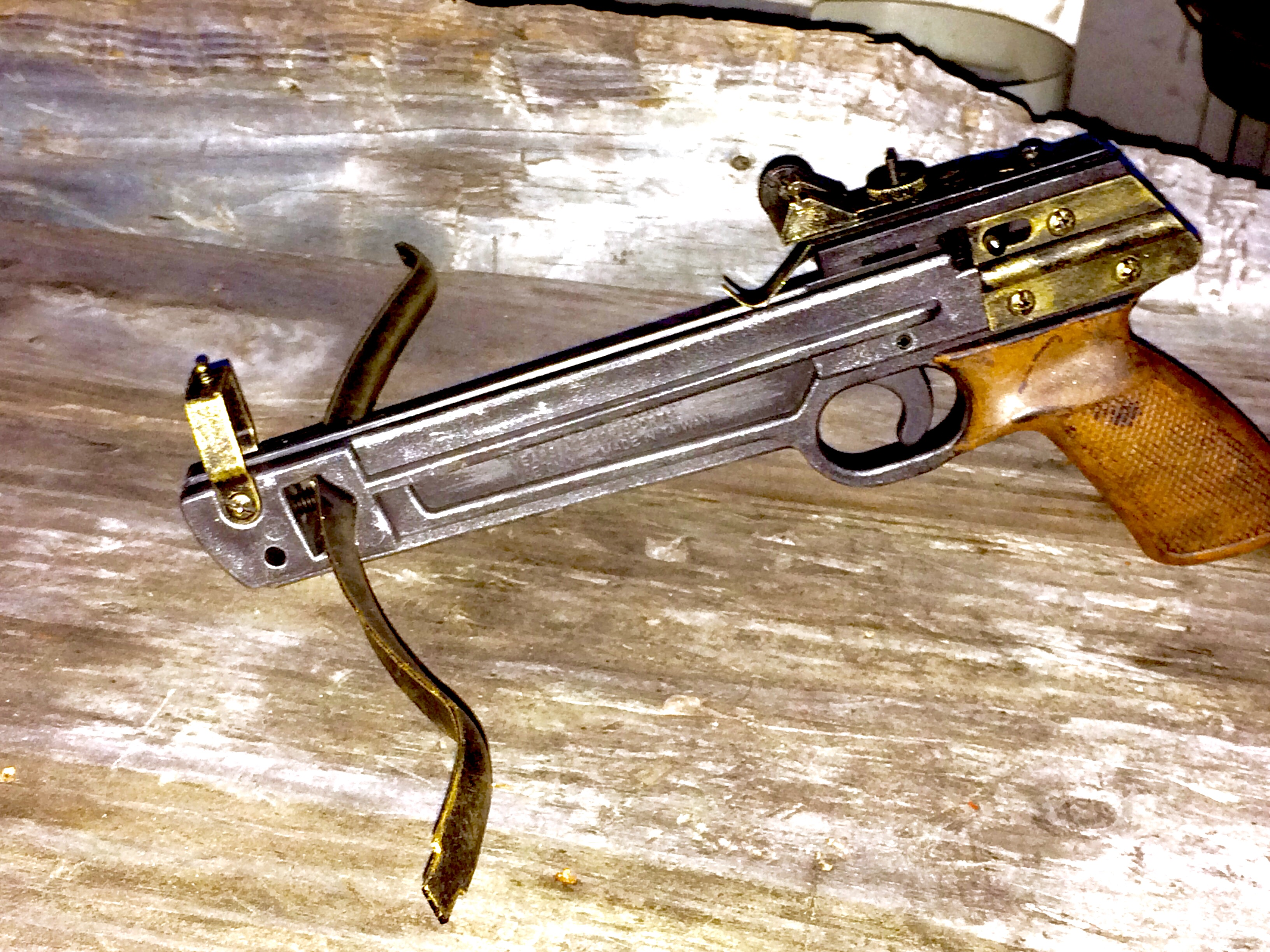 Steampunk Functional Crossbow
