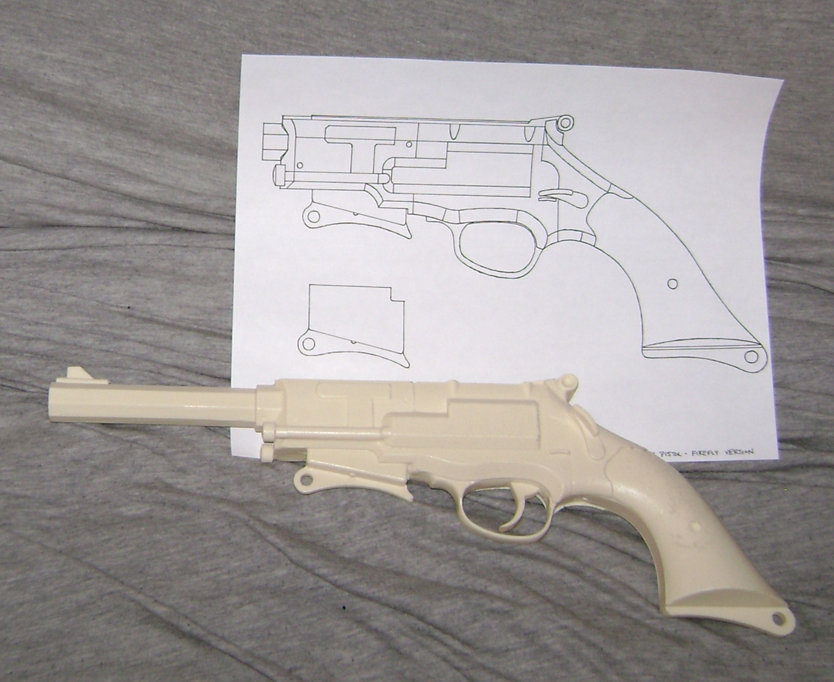 Template for capt malcolm reynolds pistol from firefly halo malcolm reynolds pistol from firefly malvernweather Gallery