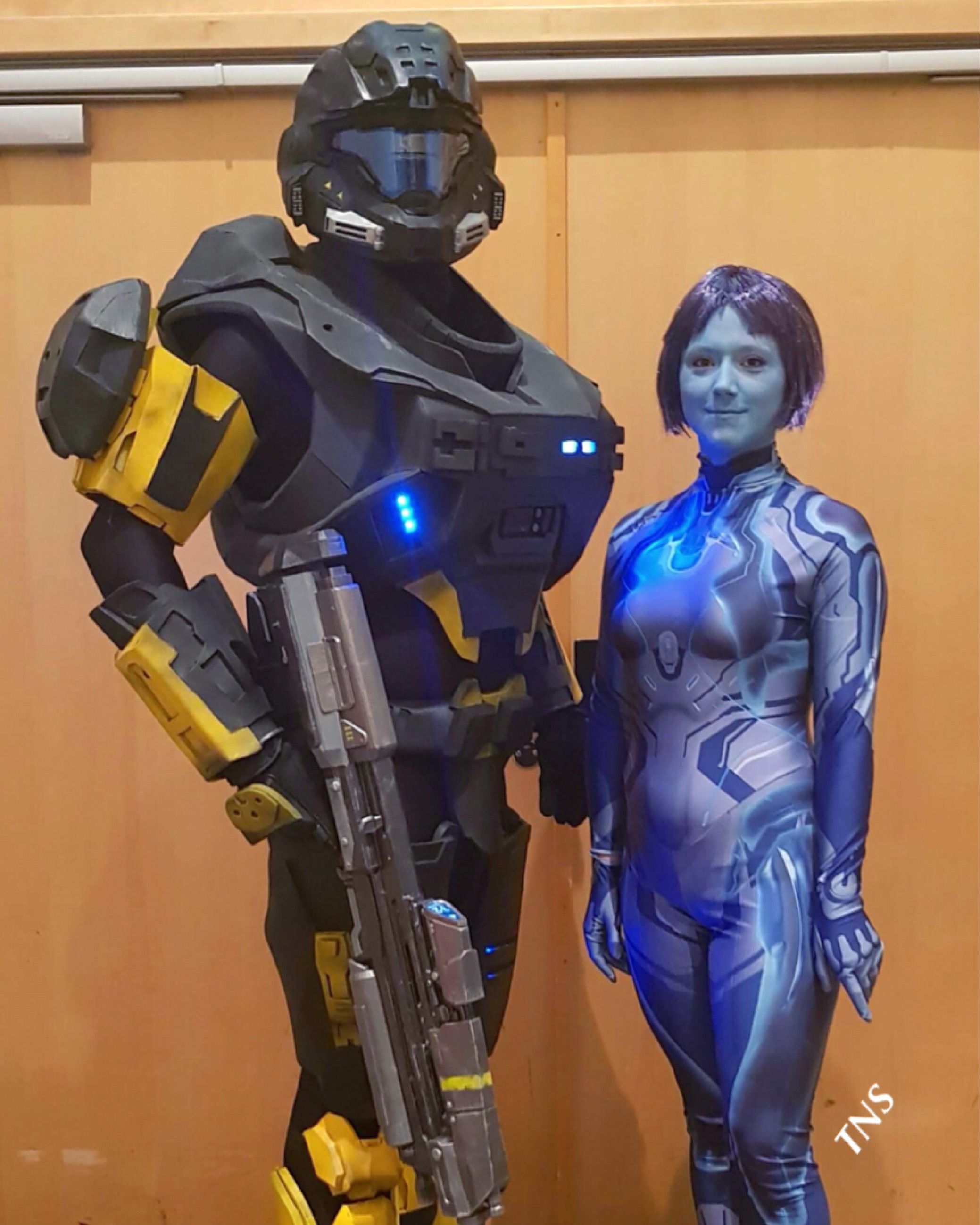 The Nordic Spartan Cortana Halo Costume And Prop Maker